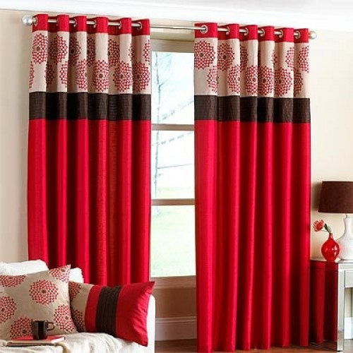 Eyelet Curtain 03