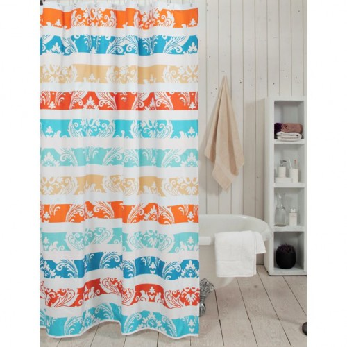 Obsessions Glam Ethnic Shower Curtain