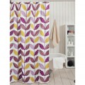 Obsessions Glam Purple And Yellow Shower Curtain